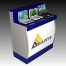 Торговое оборудование с предустановленной антикражной системой Атлантикс